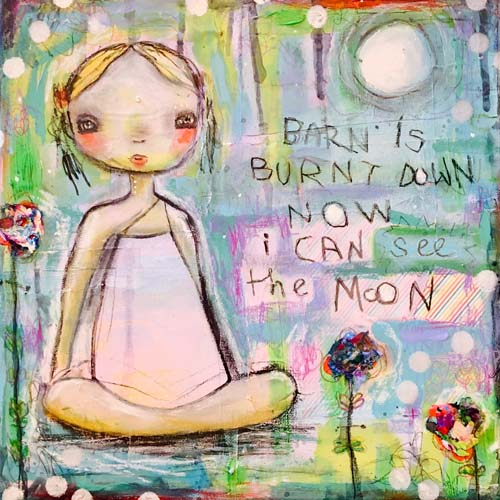 BARN BURNT DOWN